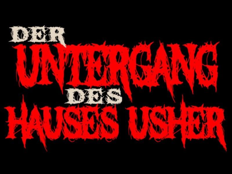 DER UNTERGANG DES HAUSES USHER - 19-UHR-VORSTELLUNG
