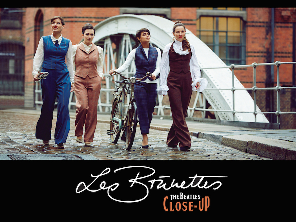 LES BRüNETTES - THE BEATLES CLOSE-UP